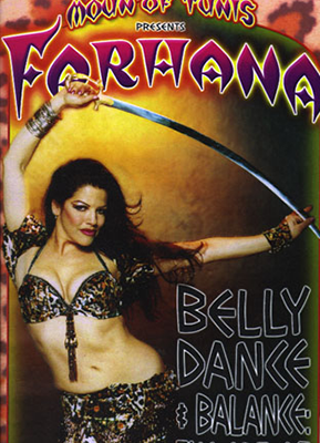 BELLY DANCE AND BALANCE dvd
